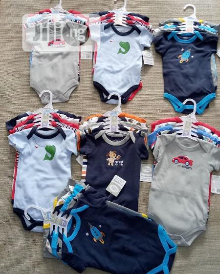 Luvable Friends 5 in 1 Baby Bodysuit Sleveless, Long Short