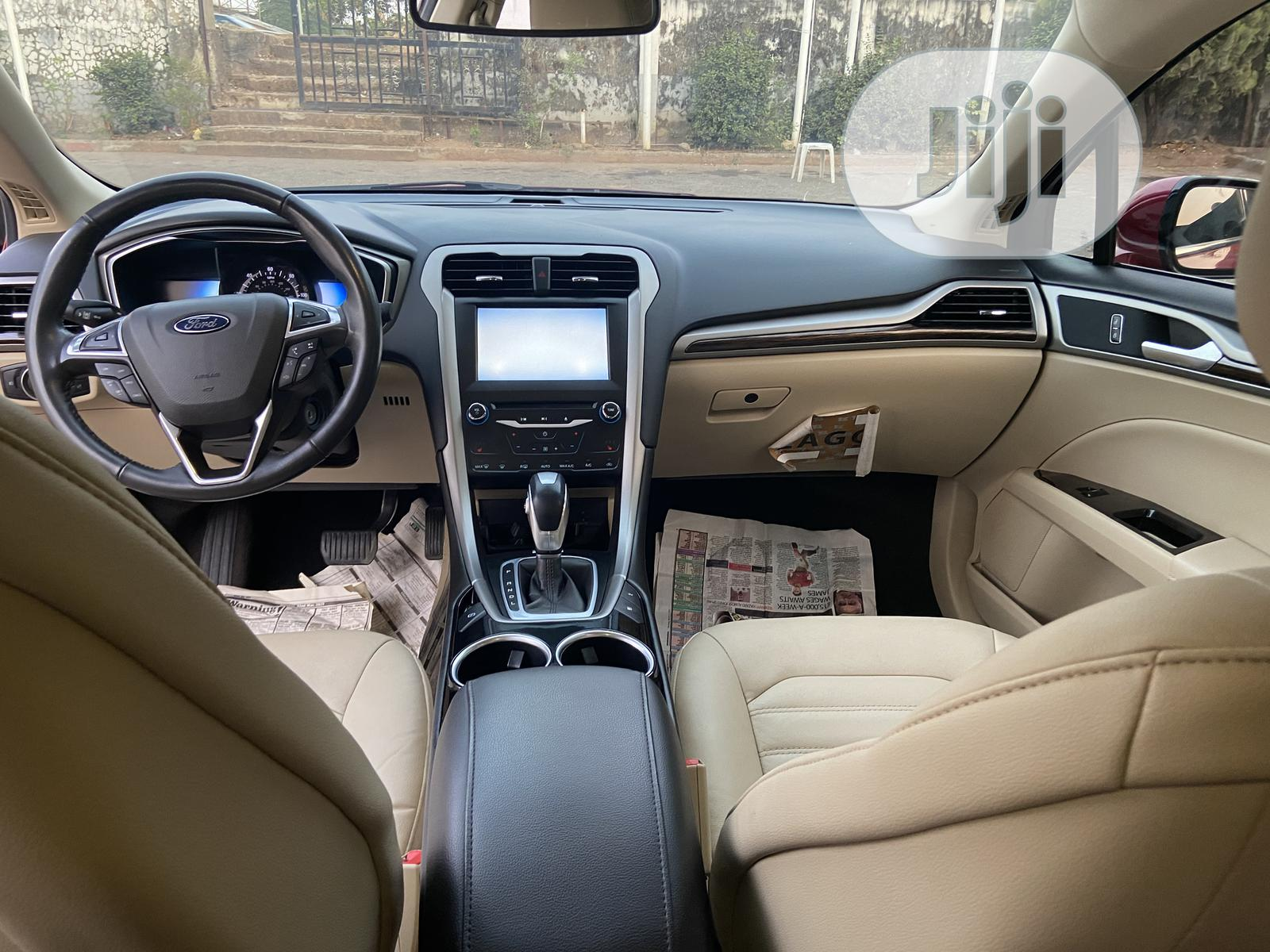Ford Fusion 2013 SE Hybrid Red | Cars for sale in Wuse, Abuja (FCT) State, Nigeria