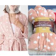 Ladies Plush Fleece Bathrobe   Clothing for sale in Lagos State, Lagos Island