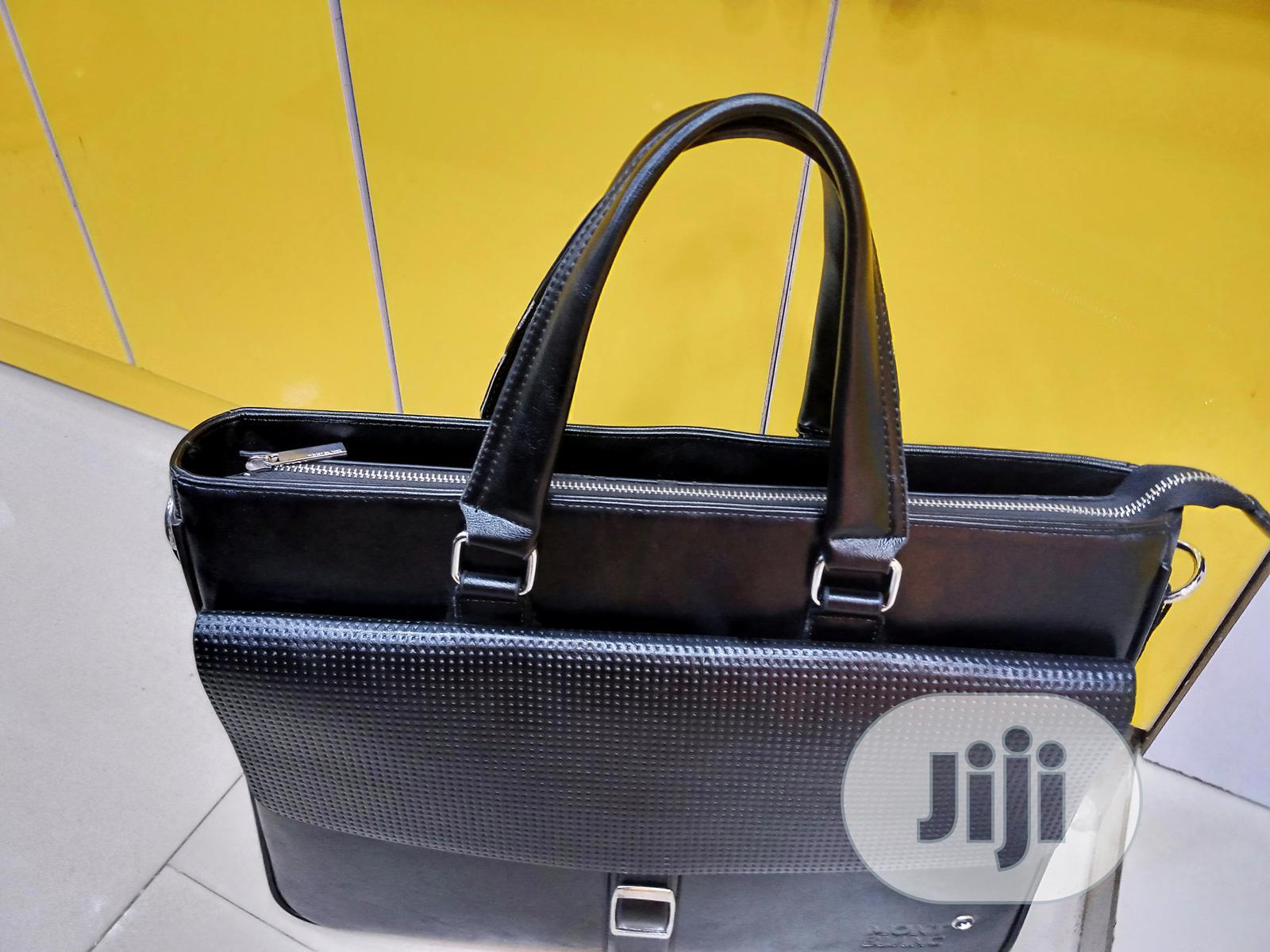 17 Inch Mont Blanc Designer Laptop Bag | Bags for sale in Lagos Island, Lagos State, Nigeria