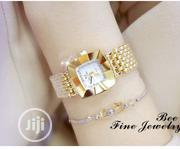 BS Rhinestone Female Chain Watch FA119 | Watches for sale in Lagos State, Alimosho
