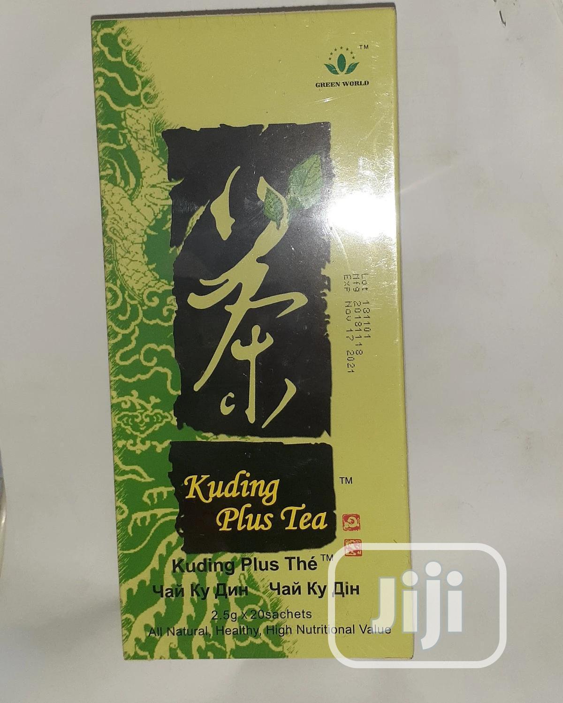 Archive: Green World Kuding Plus Tea