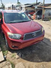Toyota Highlander 4x4 2008 Red | Cars for sale in Lagos State, Yaba