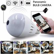 360 CCTV Wireless Bulb Camera For Maximum Security   Security & Surveillance for sale in Rivers State, Port-Harcourt