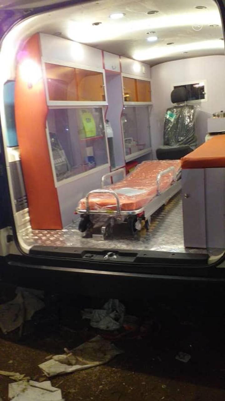 2020 Toyota Hiace Ambulance | Buses & Microbuses for sale in Shomolu, Lagos State, Nigeria