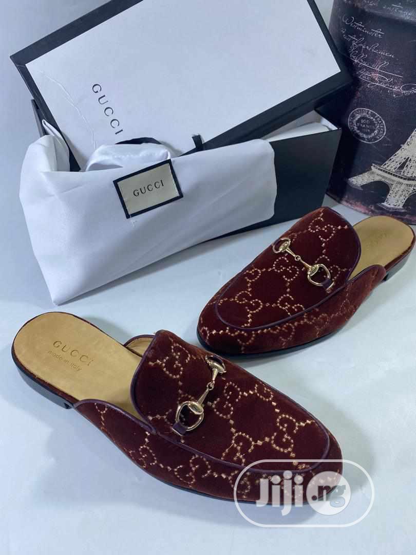 Gucci Designer Slides for Men   Shoes for sale in Magodo, Lagos State, Nigeria