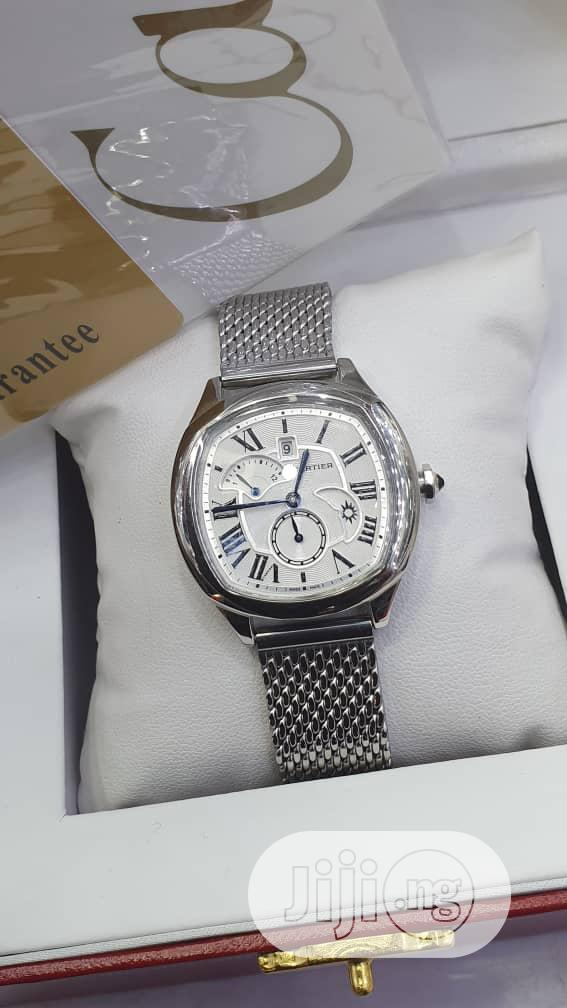 Cartier Designer Female Wrist Watch
