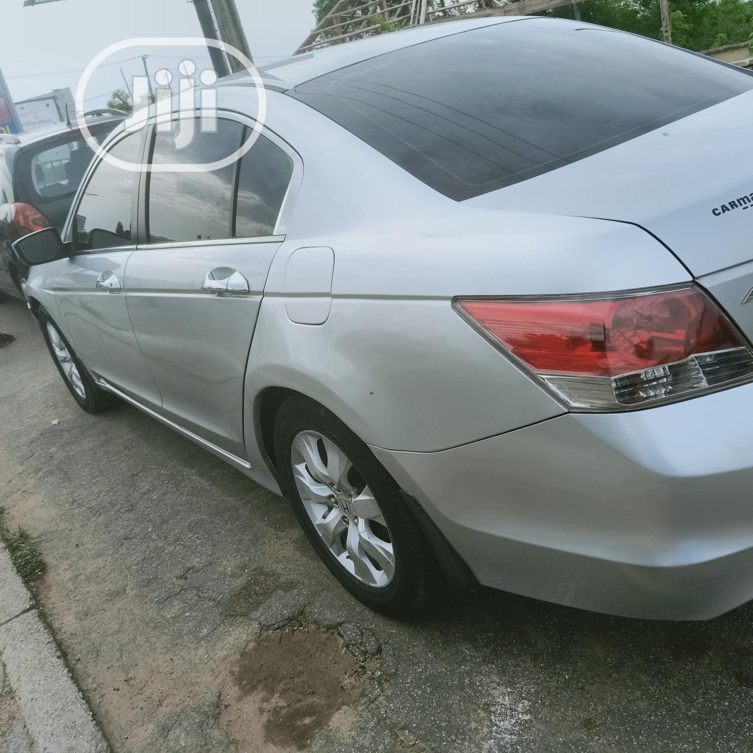 Honda Accord 2008 2.2i-CTDi Executive Silver | Cars for sale in Oluyole, Oyo State, Nigeria