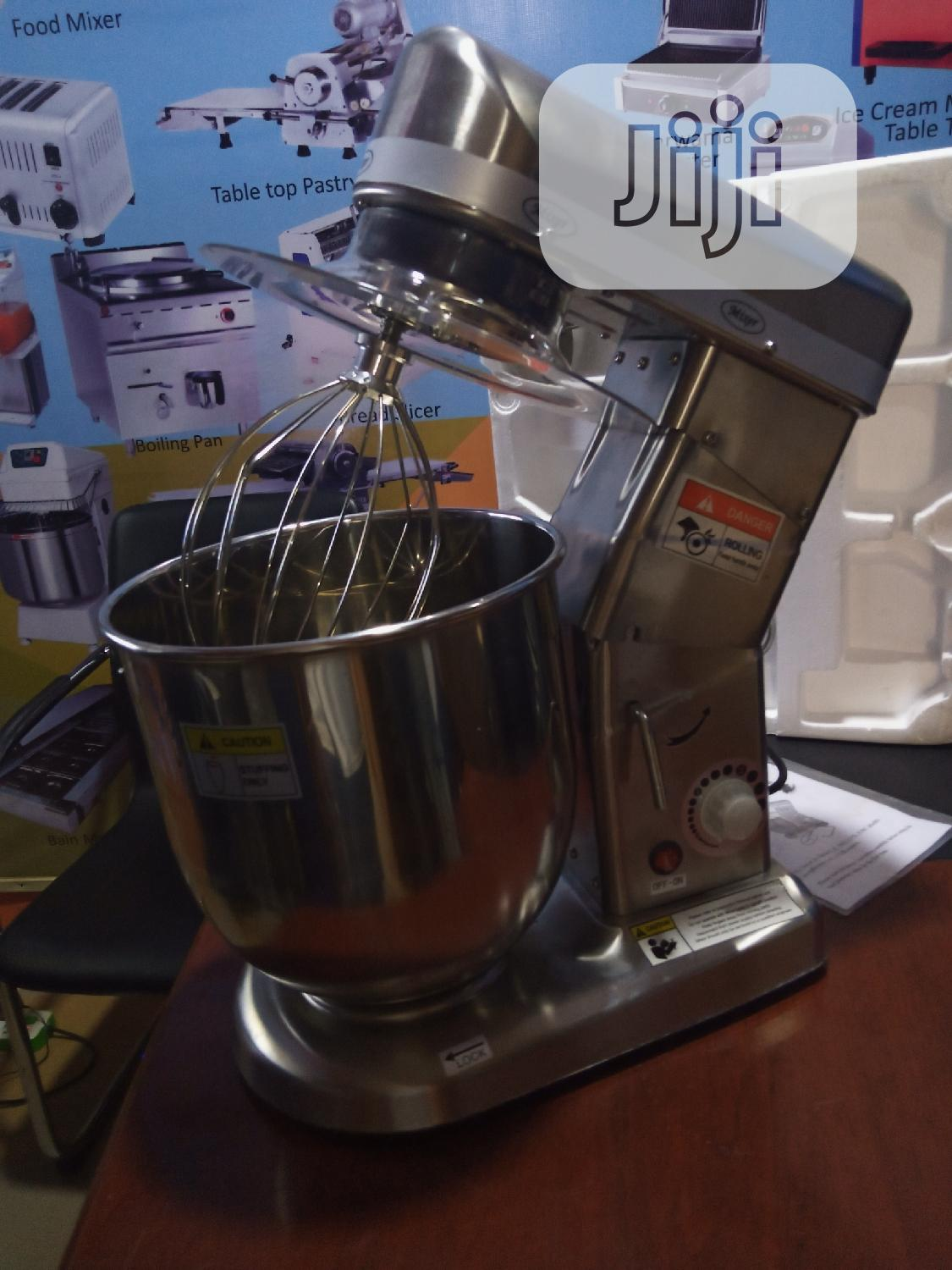 Cake Mixer 10liters Stainless