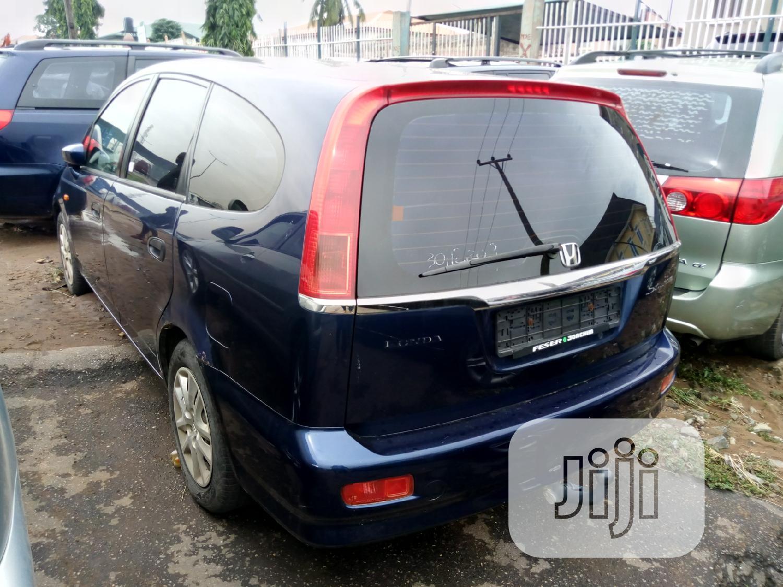 Honda Stream 2004 Blue   Cars for sale in Ojodu, Lagos State, Nigeria