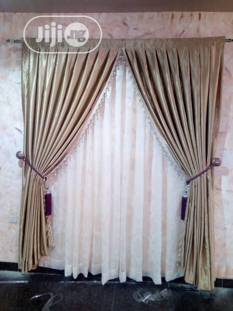 Durable Curtain Made With Quality Materials.