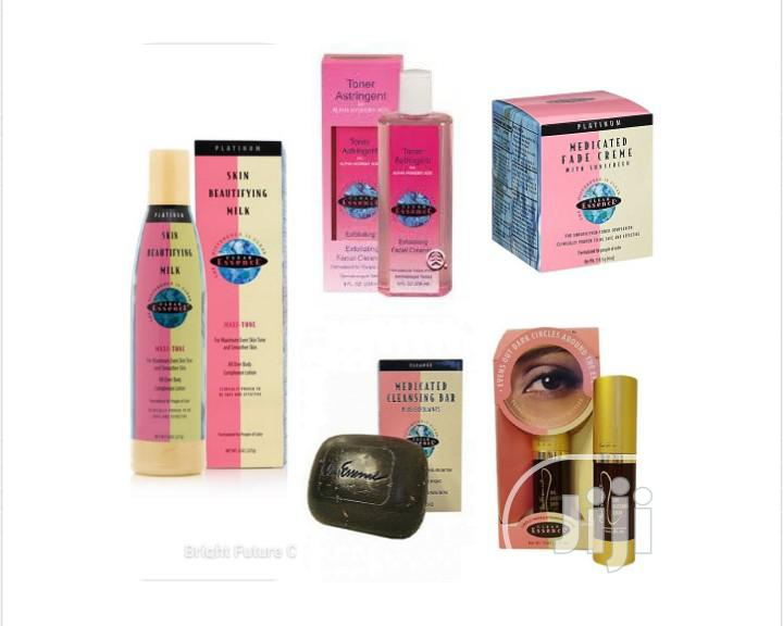Clear Essence Lotion,Fade Cream,Eye Serum,Cleanser and Soap