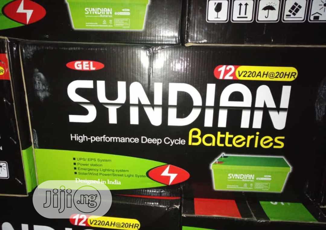 12V 200ah Syndian Solar Battery