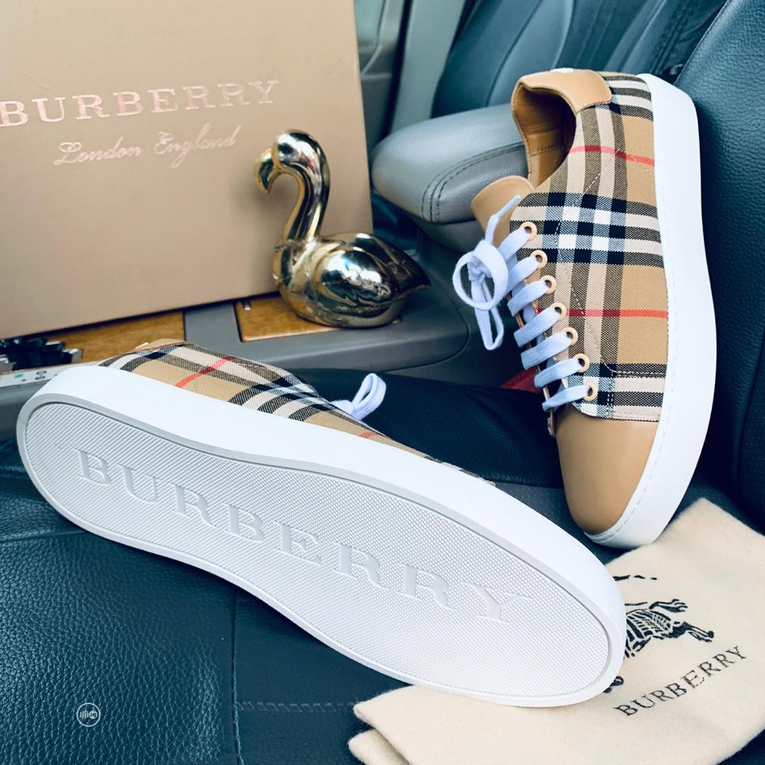Burberry Sneakers | Shoes for sale in Lagos Island, Lagos State, Nigeria