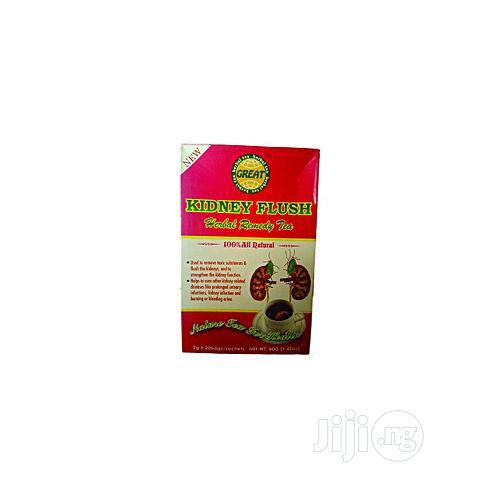 Great Kidney Flush Herbal Remedy Tea