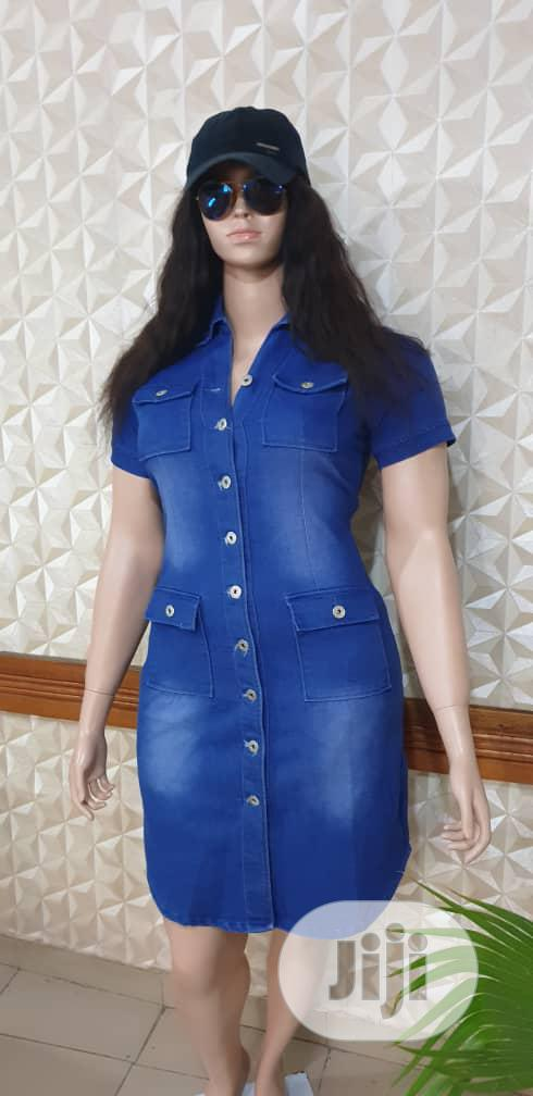 Denim Dress | Clothing for sale in Shomolu, Lagos State, Nigeria