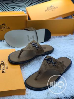 Designer Herms Palm Slipper | Shoes for sale in Lagos State, Lagos Island (Eko)