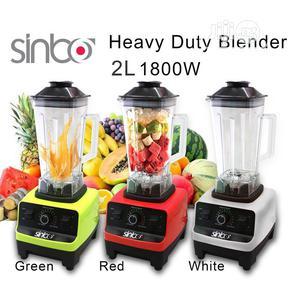Sinbo Heavy Duty Commercial Blender | Restaurant & Catering Equipment for sale in Lagos State, Surulere