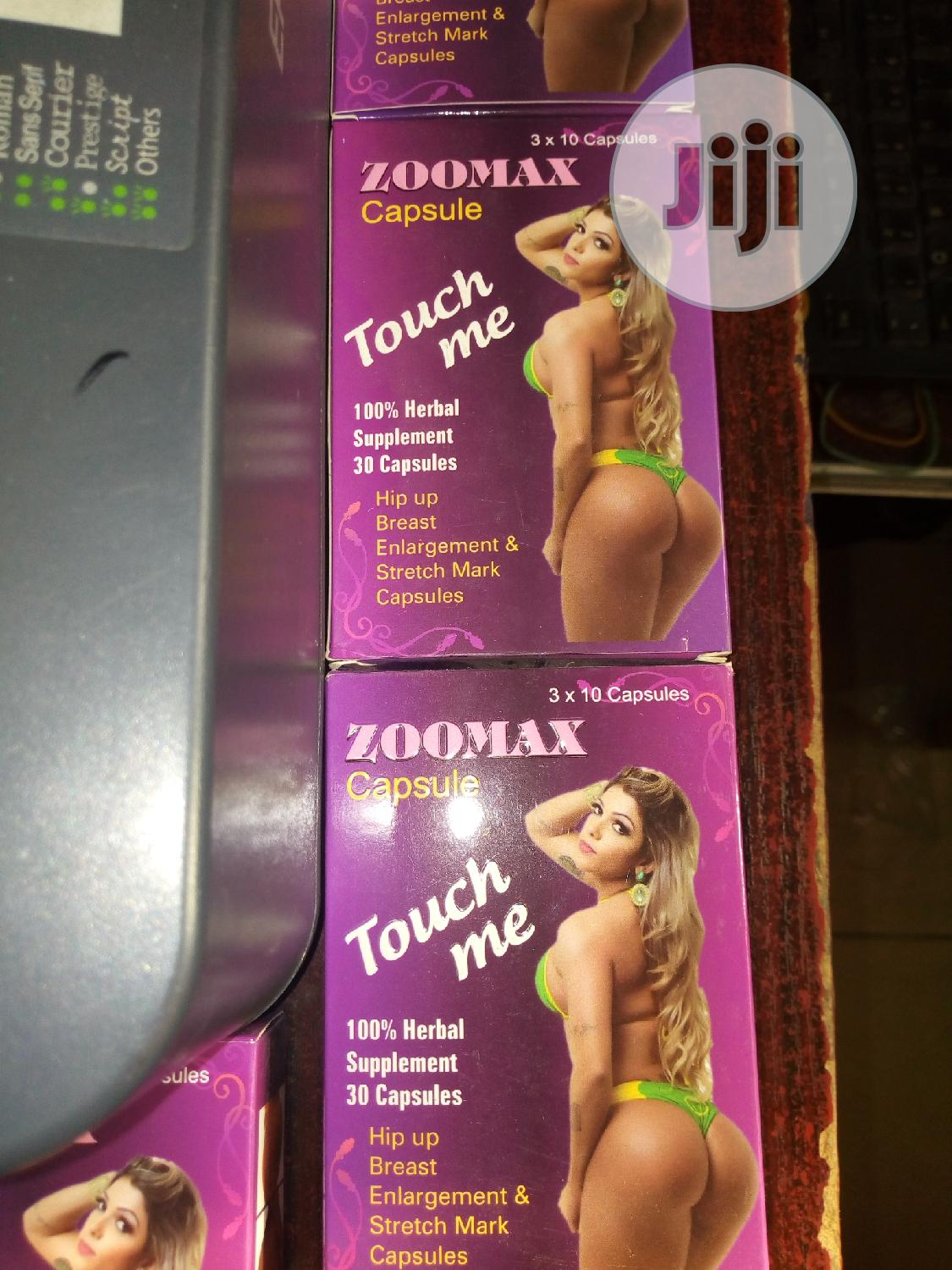 Touch Me Zoomax Capsules For Big Breasts, Hips & Buttocks Enhancement