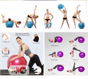 Gym Ball PVC Yoga Ball   Sports Equipment for sale in Lagos State, Ikeja