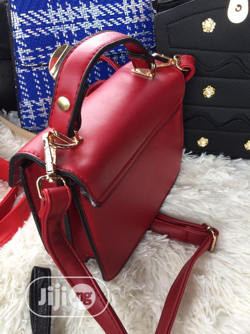 Red Quality Female Bag | Bags for sale in Ojodu, Lagos State, Nigeria