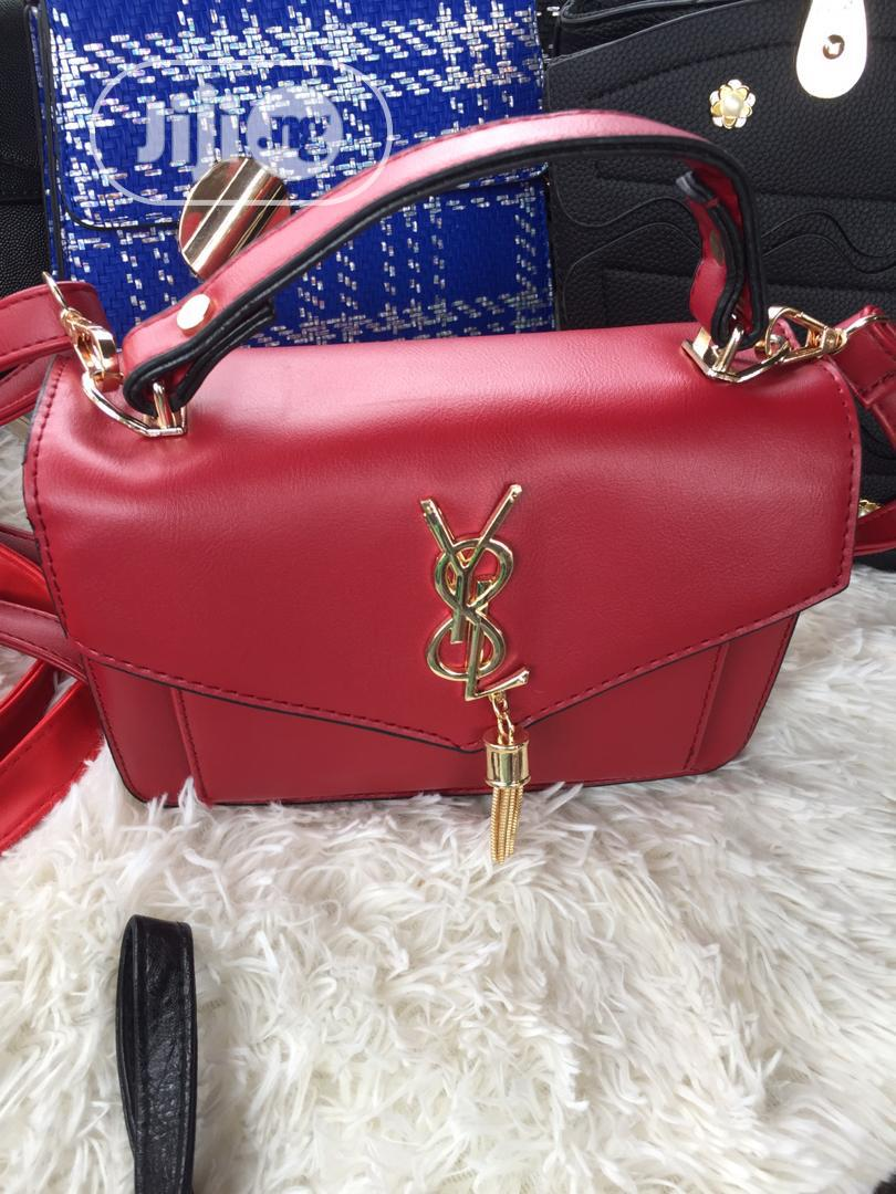 Red Quality Female Bag