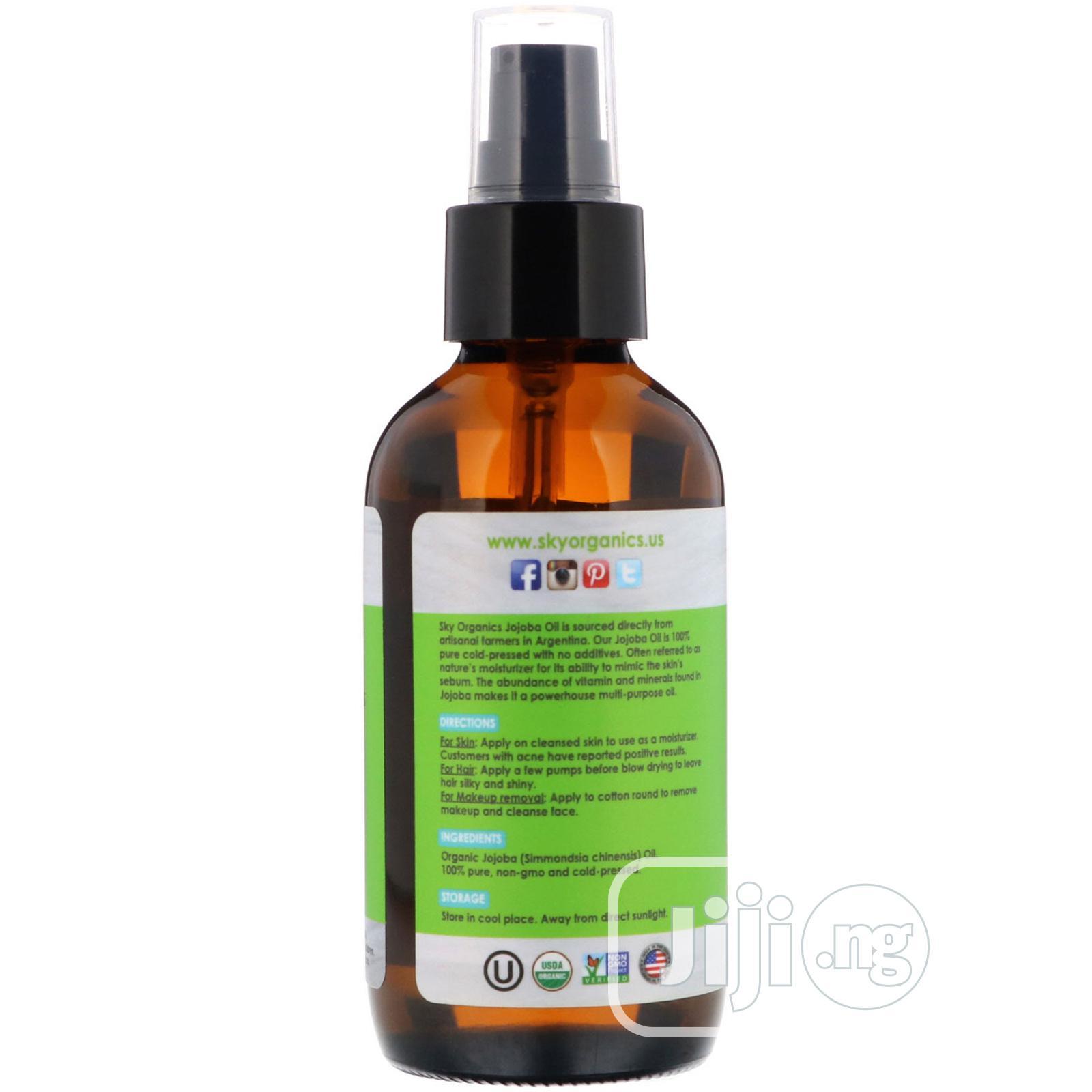 Sky Organics Pure Natural Organic Jojoba Oil From America   Skin Care for sale in Isolo, Lagos State, Nigeria