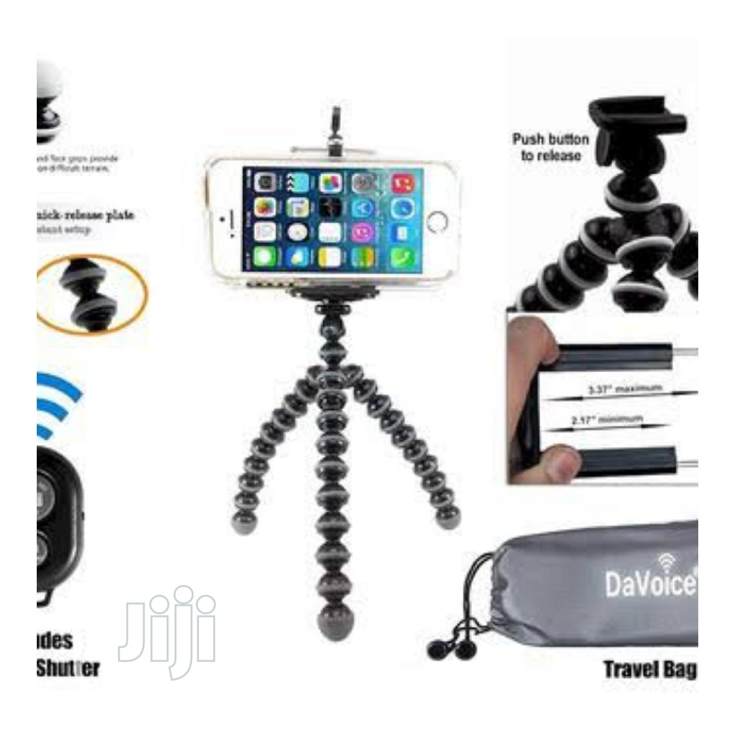Flexible Mini Phone Tripod | Accessories & Supplies for Electronics for sale in Ikeja, Lagos State, Nigeria