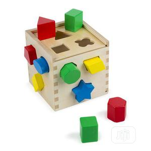Melissa & Doug Shape Sorting Cube   Toys for sale in Lagos State, Alimosho