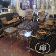Turkish Royal Sofa +Tables +Tv Stand | Furniture for sale in Lagos State, Ojo