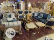 Classic Turkish Royal Sofa +Table + Tv Stand | Furniture for sale in Lagos State, Ojo