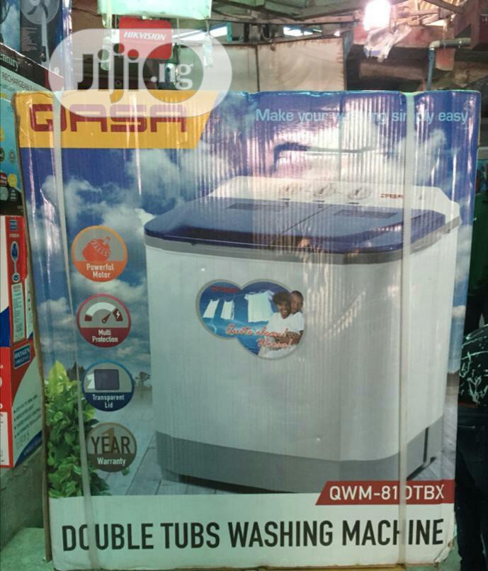 Qasa 5.5kg Twin Tub Washing And Spining Machine
