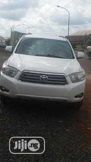 Toyota Highlander 2008 Sport White | Cars for sale in Enugu State, Enugu