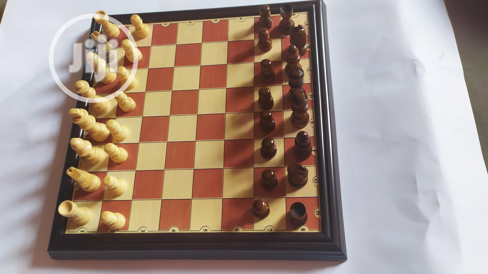 Wooden Chess Pieces | Books & Games for sale in Ikeja, Lagos State, Nigeria