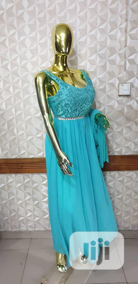 Mint Green Maxi Gown