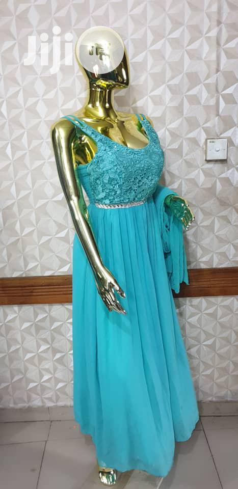 Mint Green Maxi Gown   Clothing for sale in Shomolu, Lagos State, Nigeria