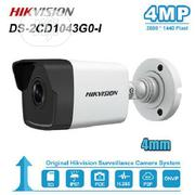 4mm Hikvision Ds-2cd1043g0-i 4mp Poe IR H.265 Wdr Network Bullet IP   Security & Surveillance for sale in Lagos State, Ikeja