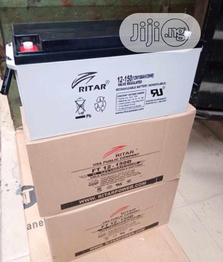12v 150ah Rita Battery Available