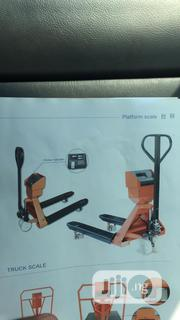 Pallet Truck With 5 Ton Weighing Scale | Store Equipment for sale in Lagos State, Lagos Island