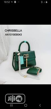 New Ladies Green Leather Handbag | Bags for sale in Lagos State, Lagos Island