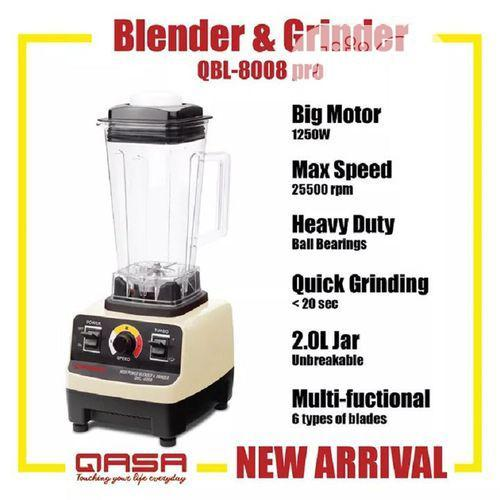 Archive: Qasa Commercial Blender Qbl-8008 PRO Heavy Duty