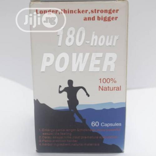 180-hour Power For Enlargement And Erectile Dysfunction | Sexual Wellness for sale in Garki 1, Abuja (FCT) State, Nigeria