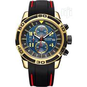 Megir Men'S Rubber Band Wristwatch | Watches for sale in Lagos State, Surulere