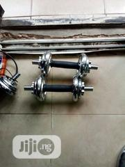15kg Dumbbell Set | Sports Equipment for sale in Lagos State, Agege