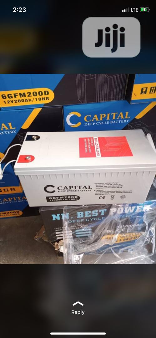 Archive: Original Capital Solar Battery 12v 200ah
