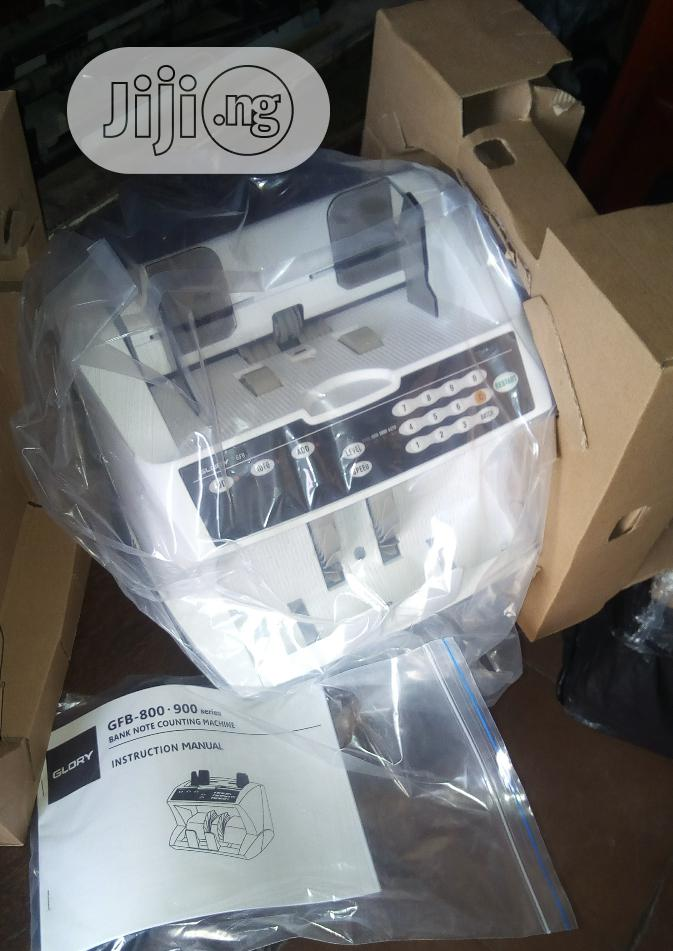 Brand New Imported Original Glory Note Counting Machine. Gfb800n