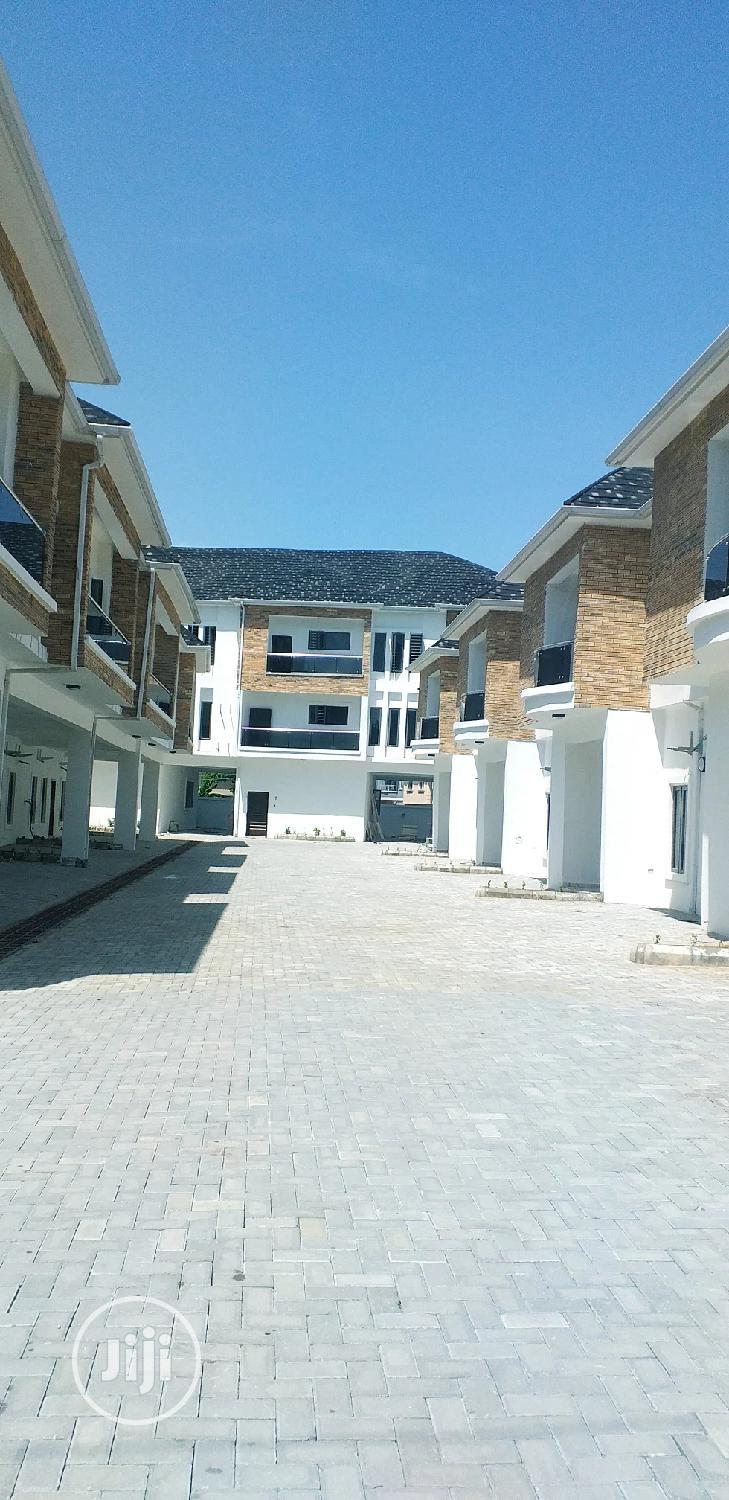 Brand New Tastefully Well Finished 4 Bedroom Terrace Duplex With BQ