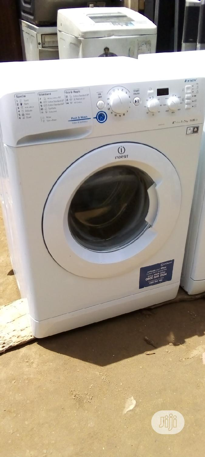 7kg Indesit Washing Machine | Home Appliances for sale in Ojo, Lagos State, Nigeria