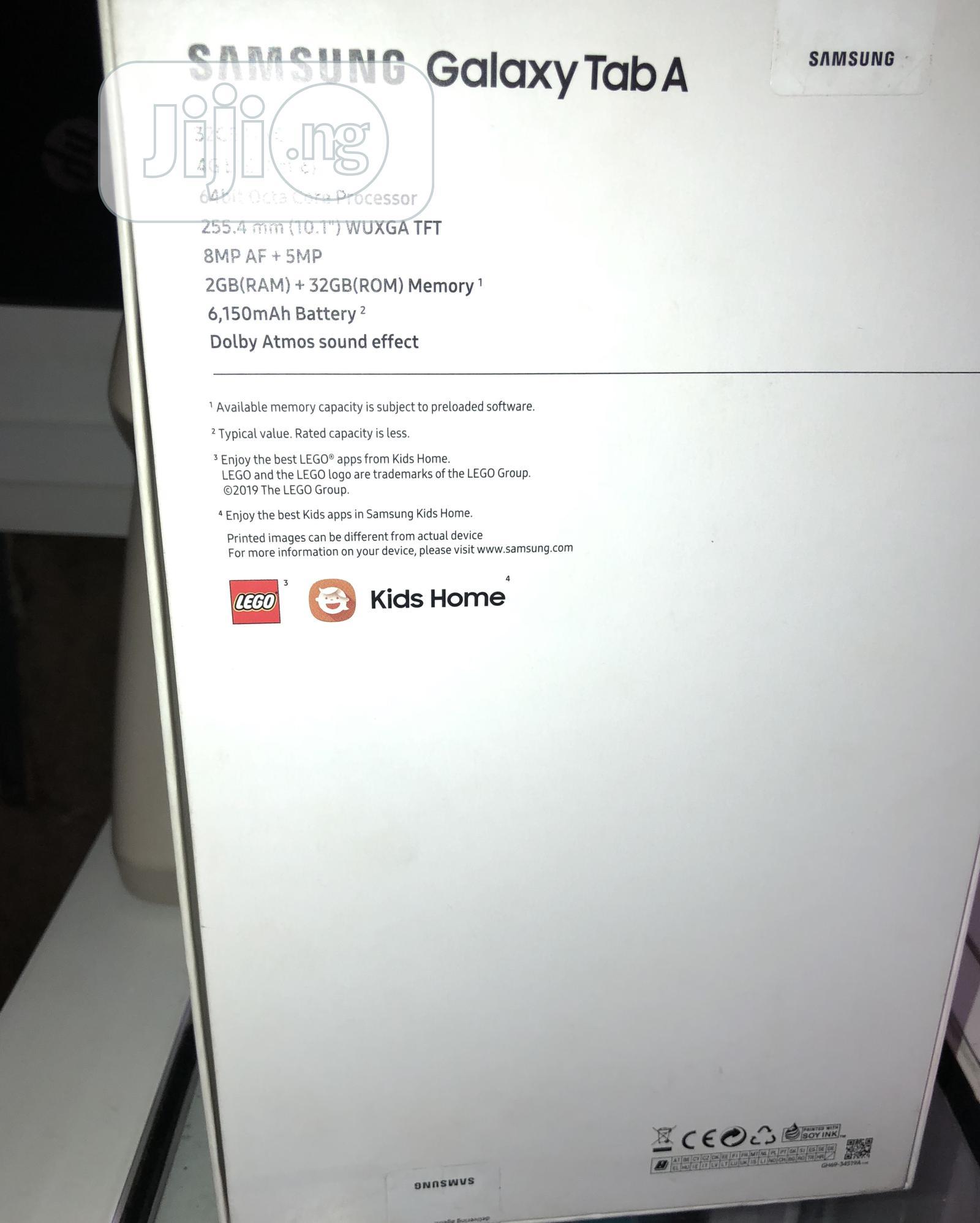 New Samsung Galaxy Tab a 10.1 32 GB Black | Tablets for sale in Ikeja, Lagos State, Nigeria