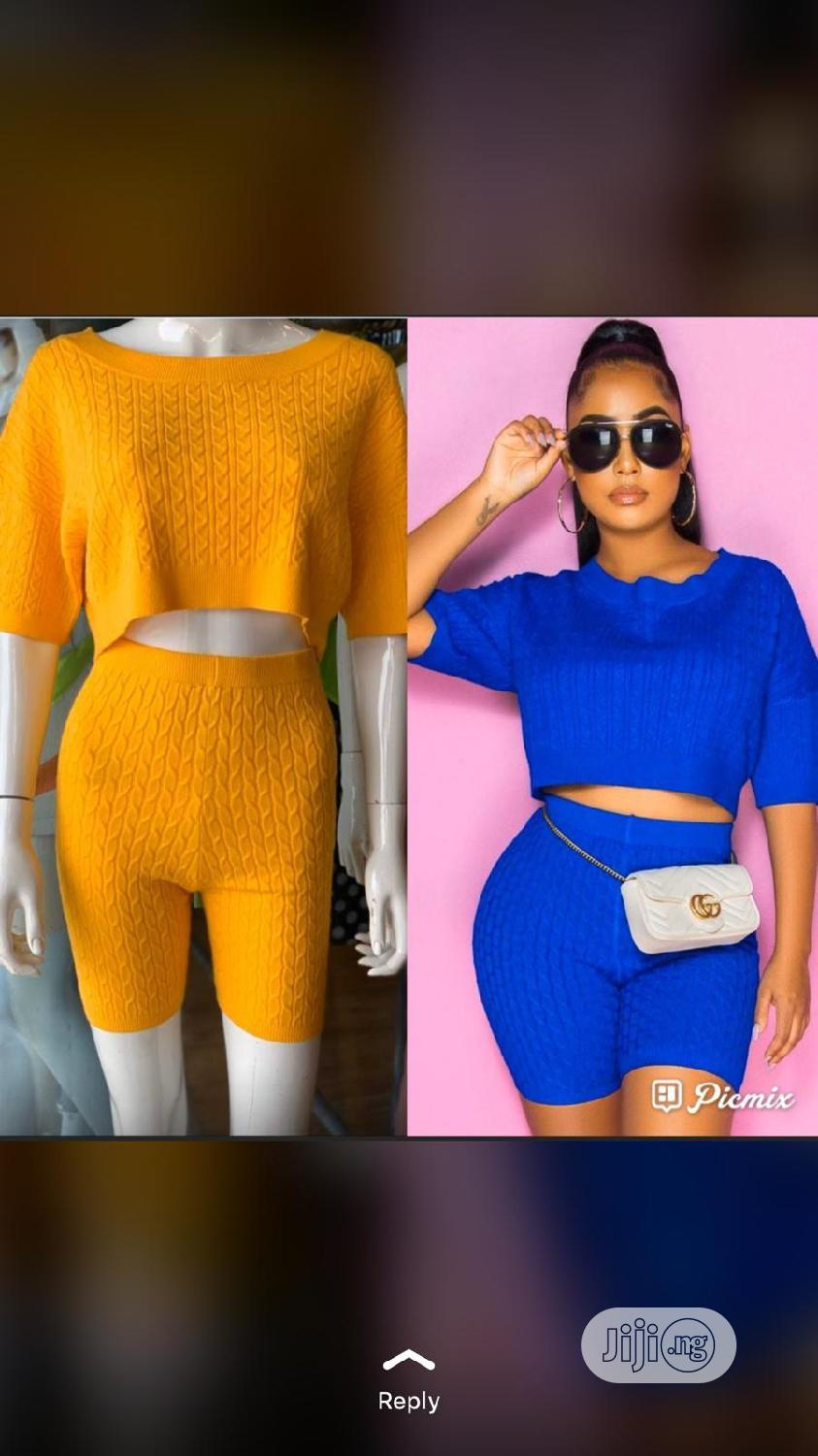 2pieces for Ladies/Women Available in Different Sizes